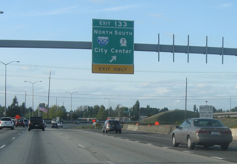 Interstate 5, SR 16 to I-705/SR 7 « Washington Highways