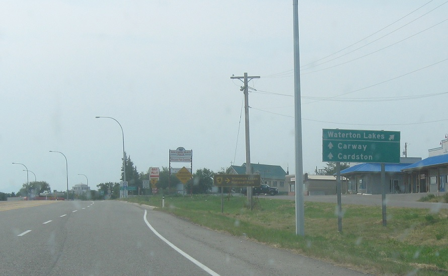 Alberta Highway 2, AB-5 to AB-5/AB-501 « Corco Highways