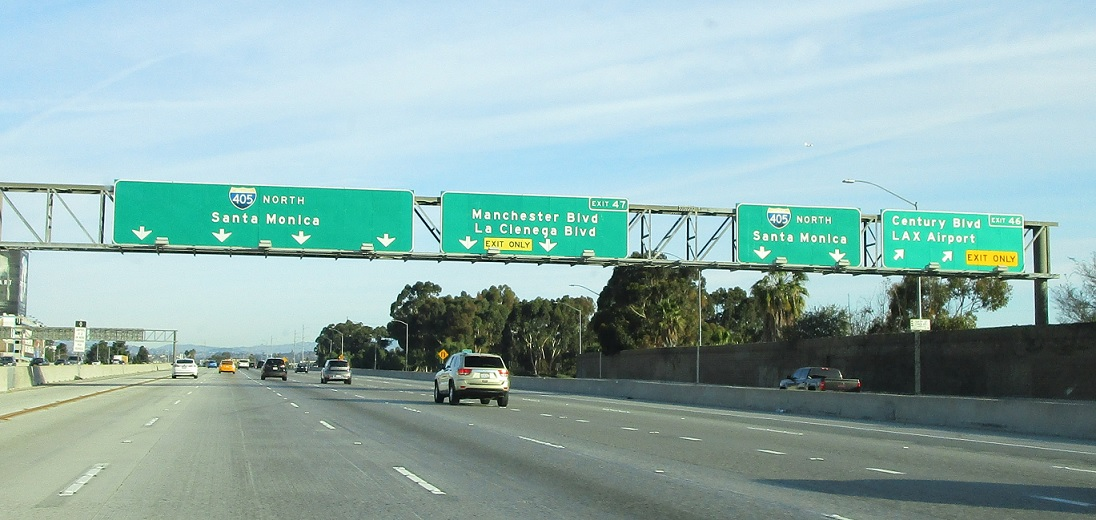 Interstate 405, I-105 to SR 90 « Corco Highways