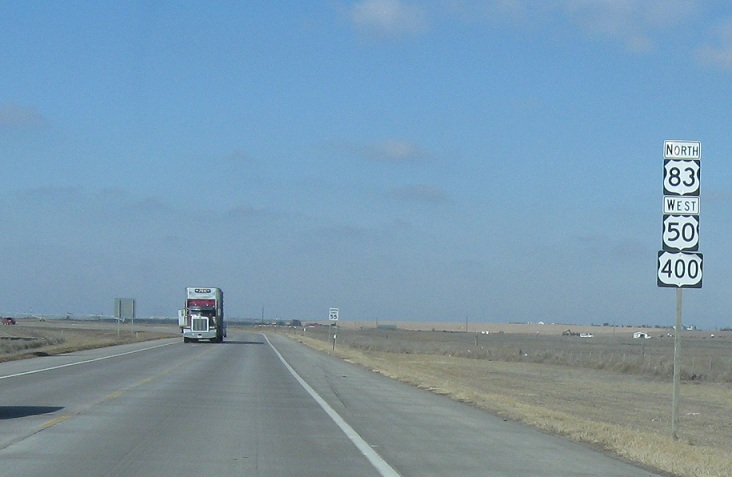 U S  Route 50, KS-156 to US-83/US-50 Bus/US-83 Bus « Corco