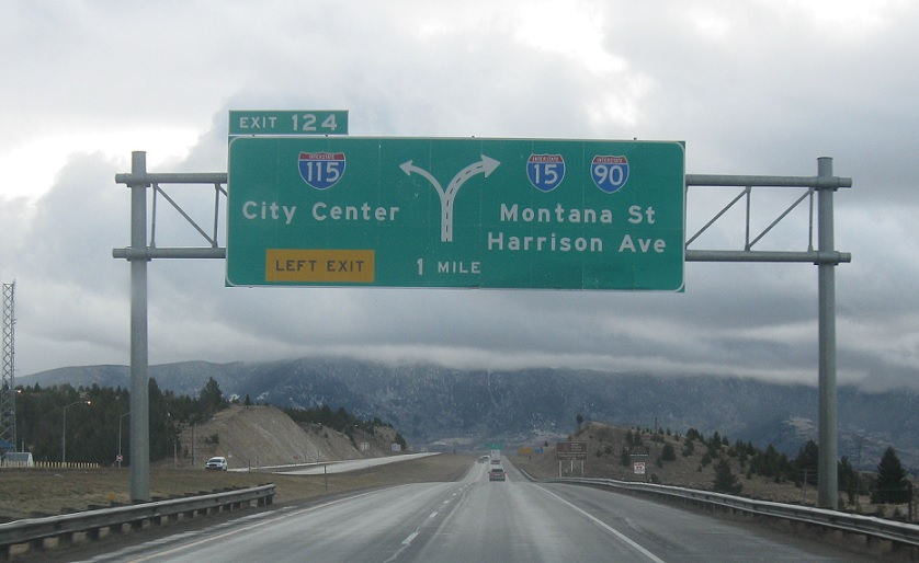 Interstate 90, S-276 to I-115/I-15 Bus/I-90 Bus « Corco Highways