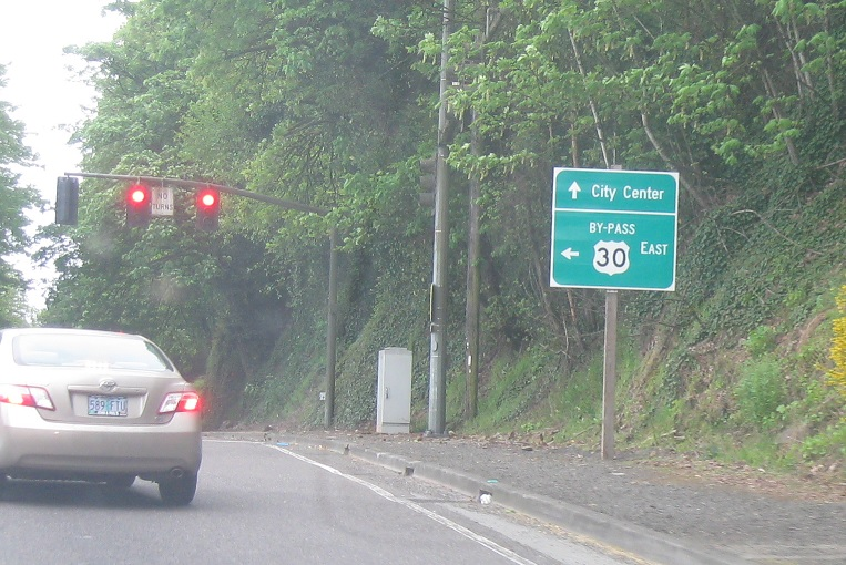 U S  Route 30 Bypass, US-30 to I-5 « Oregon Routes