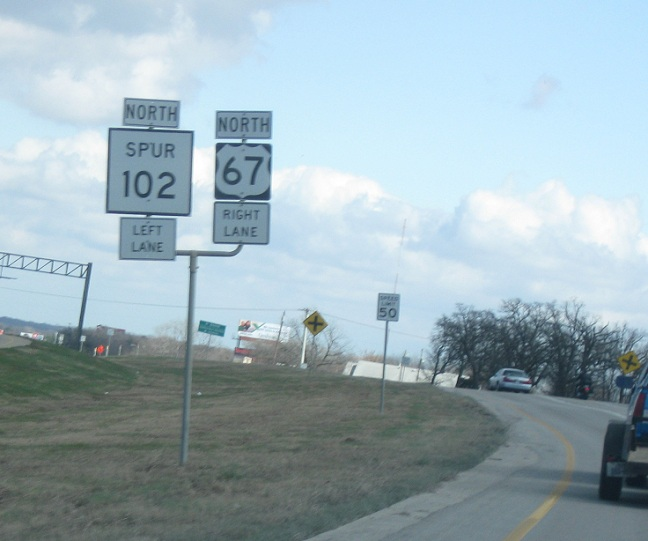 U S  Route 67, US-67 Bus to TX-102 Spur « Wyoming Routes