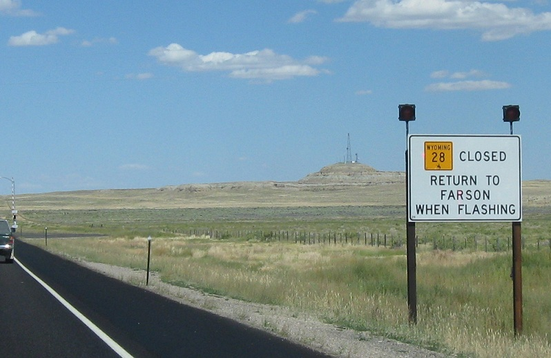 Wyoming Highway 28 Us 191 To Us 287 Wyo 789 171 Wyoming Routes